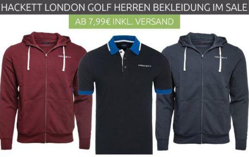 HACKETT LONDON Tipped Herren Poloshirts o. Hoodies statt 38€ für 17,99€   oder T Shirts für 7,99€