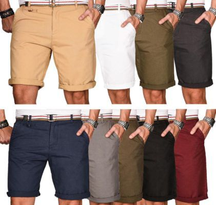 A. Salvarini Herren Bermuda Shorts div. Farben für je 24,90€