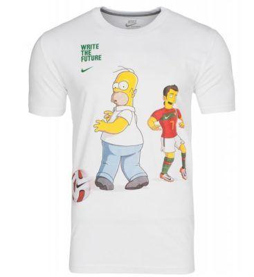 AUSVERKAUFT! NIKE Ronaldoh Simpson Herren T Shirt statt 28€ für 7,99€