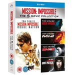 Mission Impossible 1- 5 Blu-ray Boxset für nur 15€ (statt 20€)