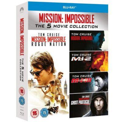 Mission Impossible 1  5 Blu ray Boxset für nur 15€ (statt 20€)