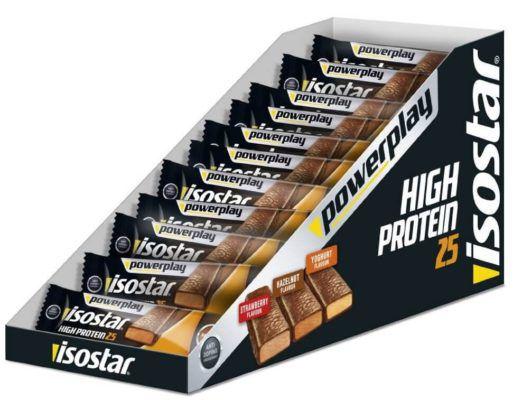 Isostar High Protein Riegel 25   30x35g Joghurt MHD 21.06.2017 statt 24€ für 11,65€