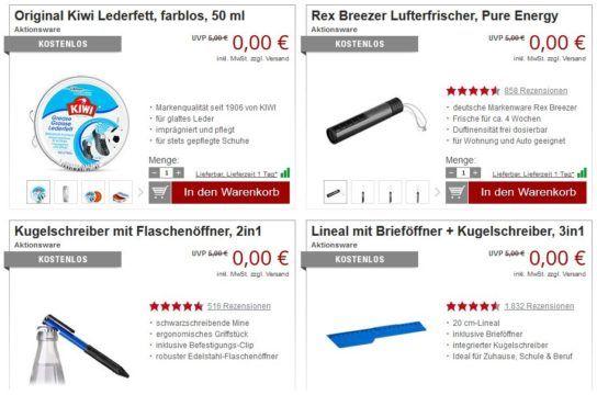 22 GRATIS Artikel bei Druckerzubehör ab 5€ MBW (zzgl. Versand)