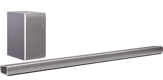 LG DSH9   4.1 Soundbar mit Bluetooth & 420 Watt für 249€ (statt 299€)