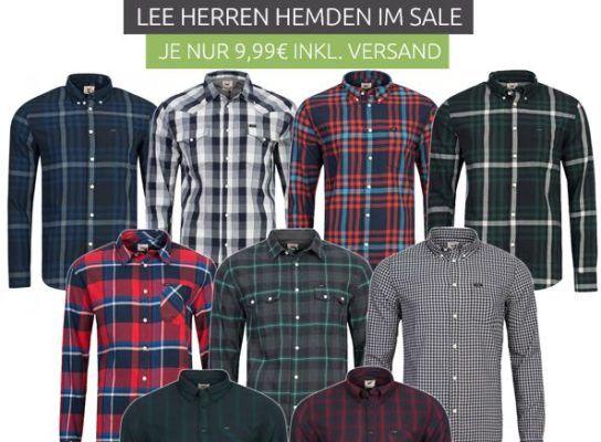 Lee   Herren Hemden für nur 9,99€