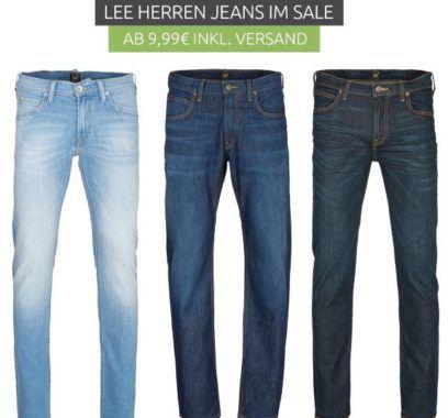 Herren Jeans & Hosen Ausverkauf bei Outlet46   z.B. Lee Jeans schon ab 9,99€