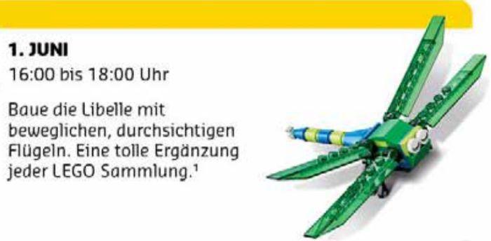 Gratis Lego Mini Bauaktion Juni – nur am 01.06. in teilnehmenden Lego Stores