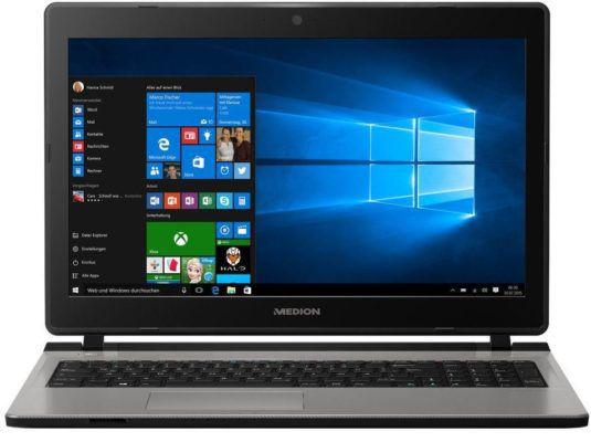 MEDION AKOYA E6432  15,6 Notebook mit i3, 6 GB RAM, 128 GB SSD, 1TB HDD für 429,99€