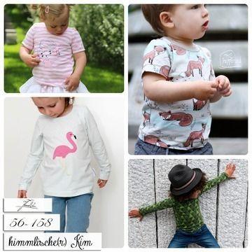 Nähanleitung und Schnittmuster für ein Basic Shirt gratis