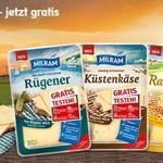 Milram Käse gratis testen dank Geld zurück Garantie