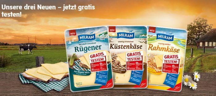 Milram Käse gratis