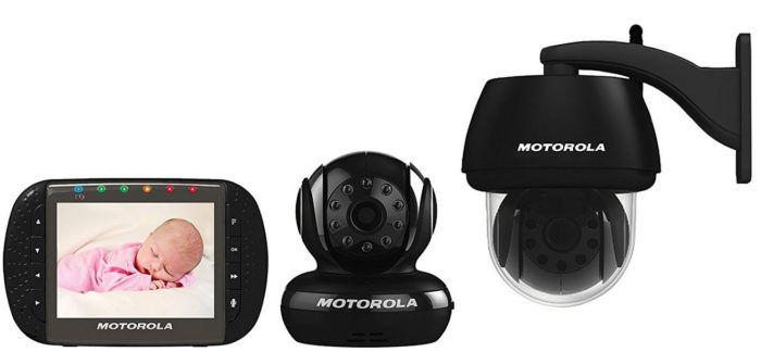 Motorola Scout 1500   Innen und Aussen Überwachungsgerät mit 2 Kameras statt 113€ für 89,90€