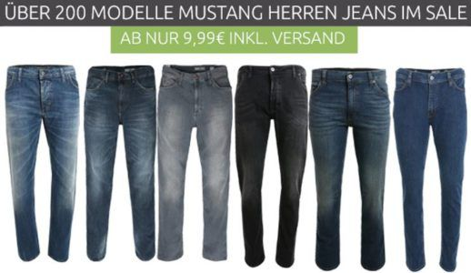 Mustang Jeans & T Shirts ab 4,99€