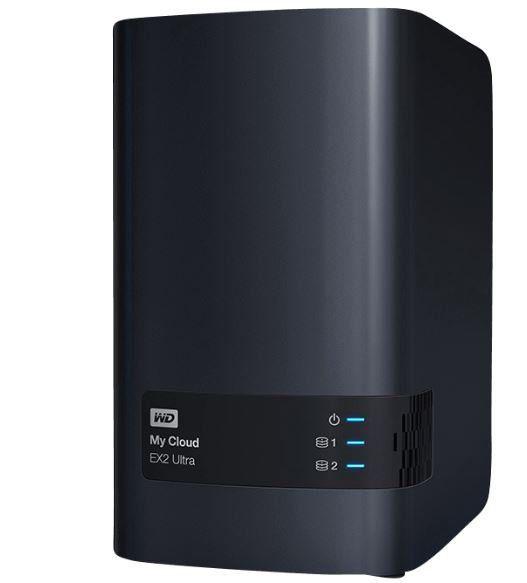 WD My Cloud EX2 Ultra 8 TB (2 x 4TB) NAS statt 418€ für 359€