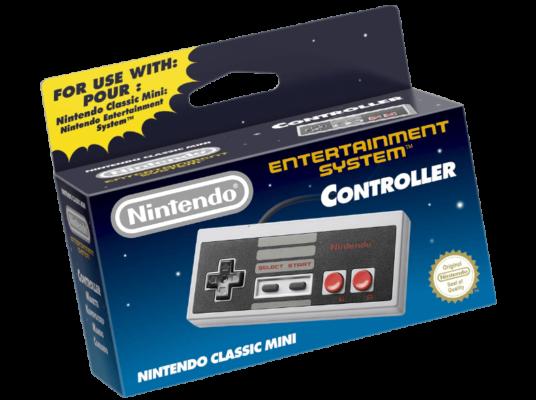 Nintendo Classic NES Controller für 12,99€ (statt 18€)   Vorbestellung