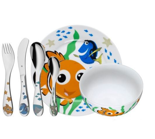 WMF Findet Nemo   6 teiliges Kindergeschirr Set für 24,95€ (statt 31€)