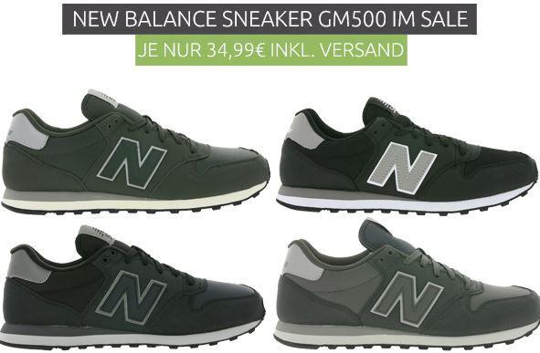 New Balance GM 500 Herren Sneaker statt 50€ für 34,99€
