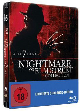 Nightmare on Elm Street Blu ray Collection Box für 25€ (statt 38€)