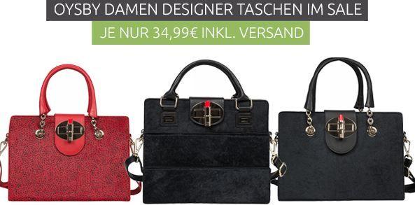 OYSBY London   Leder Handtaschen statt 123€ für je nur 34,99€