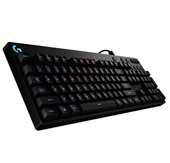 LOGITECH G810 Orion Spectrum Mechanische Gaming Tastatur statt 127€ für nur 88€