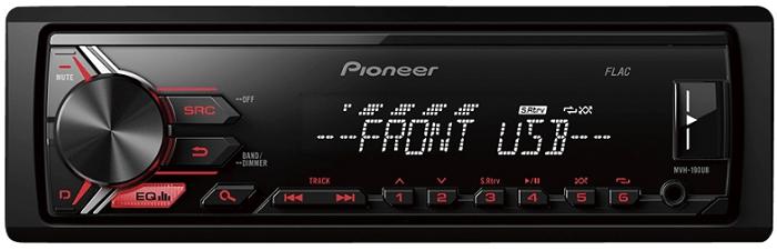 PIONEER MVH 190UB Autoradio für 35€ (statt 46€)