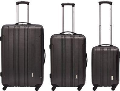Packenger Torreto   3 teiliges Spinner Kofferset statt 149€ für 89,90€