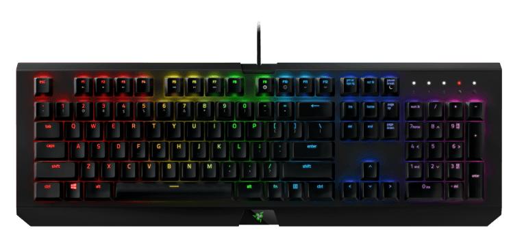 Razer BlackWidow X Chroma Gaming Tastatur für 105€ (statt 140€)