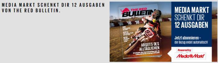 12 Monate The Red Bulletin gratis statt 25,90€   endet automatisch