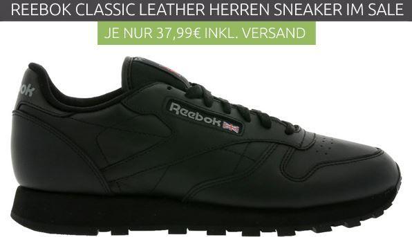 Reebok Classic Herren Leder Sneaker für 37,99€ (statt 55€)