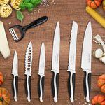 Royality Line – Kochmesser Set mit 7 Messern + 2 Gratis Artikel für 10,49€
