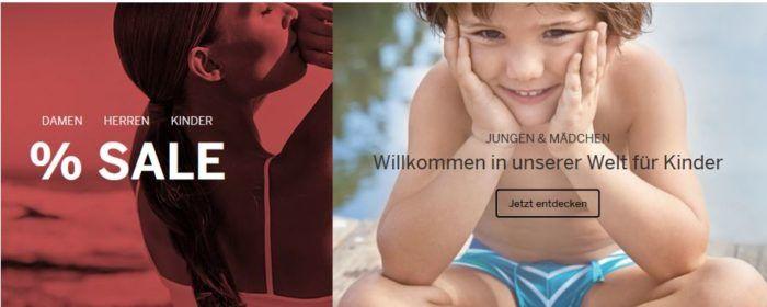 Schiesser: 50% Rabatt SALE + 25% auf Alles   günstige Unterwäsche, Bademoden, Bettwäsche...