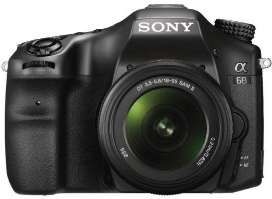 Sony Alpha 68 (ILCA 68K) Spiegelreflexkamera mit 18 55mm Objektiv statt 499€ für 399€