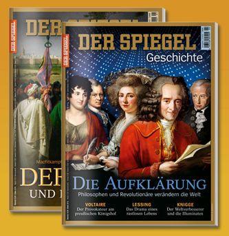 2 Ausgaben Spiegel Geschichte gratis – Kündigung notwendig
