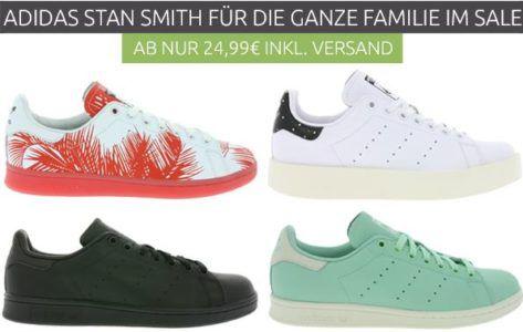 adidas Stan Smith Sneaker Kinder ab 24,99€   Herren Sneaker statt 66€ für 59,99€