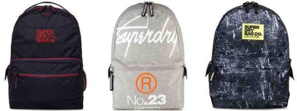 Superdry Taschen und Rucksäcke für je nur 21,95€
