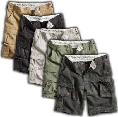 Surplus Raw Cargo Trooper Herren Shorts bis 7XL für je 24,90€