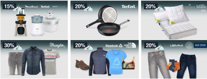 20% Rabatt auf TEFAL Pfannen, Kinder und Damen Kleidung, ausgw. Spielzeug uvm.   Galeria Kaufhof Mondschein Angebote