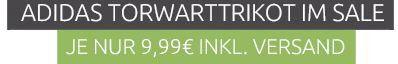 adidas Herren Fußball Torwart Trikot Oberteil für nur 9,99€