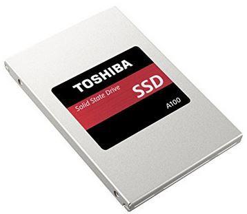 TOSHIBA  A100   120 GB interne SSD für 44€ (statt 61€)