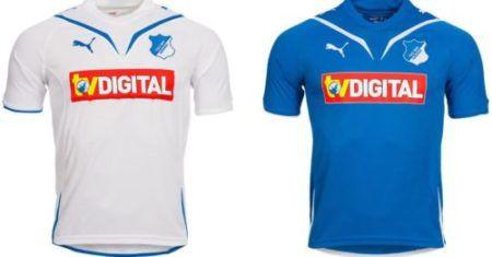 TSG 1899 Hoffenheim Puma Herren und Kinder Trikot für je 12,99€