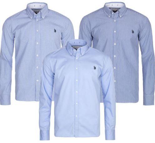U.S. POLO ASSN. Button Down Herren Business Hemd für 24,99€