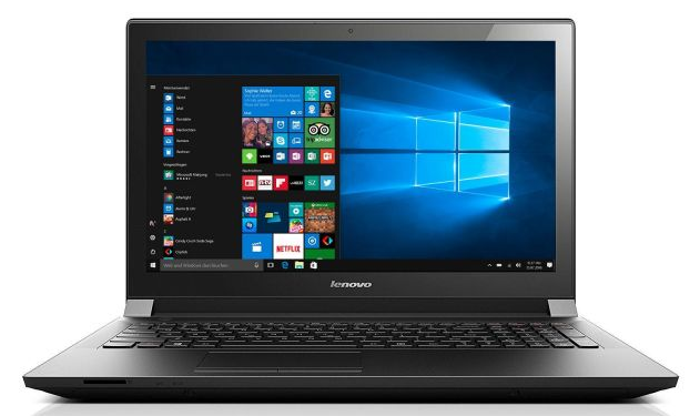 Lenovo B50 50   15 Notebook mit 2 GHz, 500GB + Windows 10 für 299€ (statt 334€)