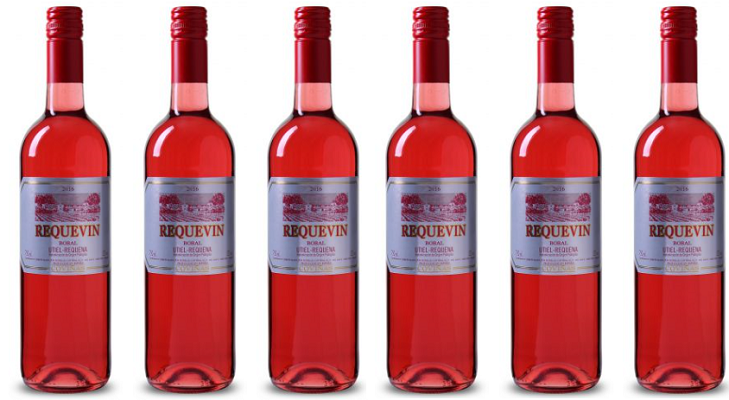 6 Flaschen Bodegas Coviñas Requevin   Bobal Rosado für 19,99€