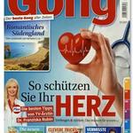 """Schnupperabo """"Gong"""" für 3 Monate (13 Ausgaben) kostenlos"""