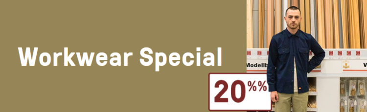 HHV Workwear Special mit 20% Rabatt   z.B. Carhartt Rucksack für 69,95€ (statt 80€)