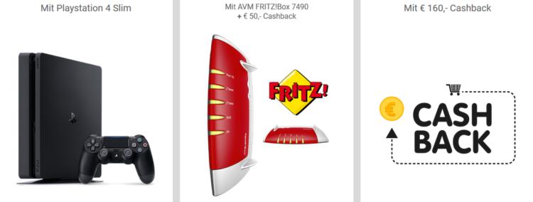 Magenta Zuhause M für 33,15€ inkl. verschiedener Zugaben   z.B. PS4 Slim 500 GB   Friends Vorteil möglich