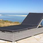 Bis zu 44€ Rabatt auf Gartenmöbel bei GartenXXL – z.B. Rattan-Liege mit Kissen für 277,95€ (statt 300€)