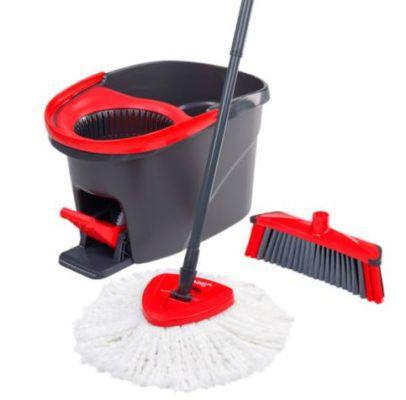Vileda Easy Wring & Clean mit 3Action Wischmop und Besenkopf für 29,99€