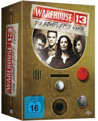 Warehouse 13   komplette Serie auf Blu ray für 22,67€ (statt 35€)