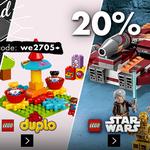 Karstadt Kracher mit z.B. 20% auf LEGO Technik, Star Wars, duplo, Armbänder, Spiele und mehr…